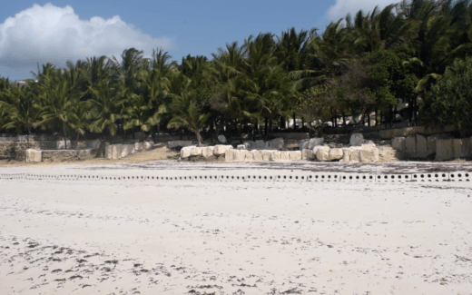Sandsaver Beach Erosion Solution Indian Ocean