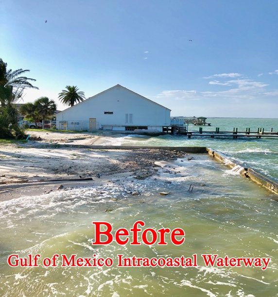 Sandsaver Gulf of Mexico Before