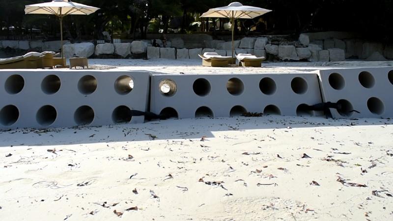 Sandsaver Beach Erosion Solution Indian Ocean