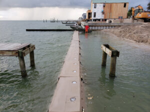 Sandsavers being installed in Gulf of Mexico